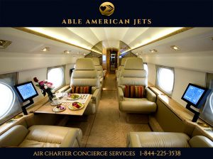 Private Jet Charter Flights - Able American Jets