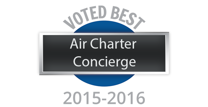 Voted Best Air Concierge Charter Services - 2015-2016 - Able American Jets