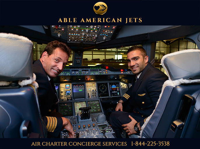 Air Charter Service for Business