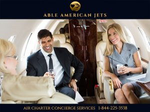 Private Jet Charter - Travel In Style - Able American Jets